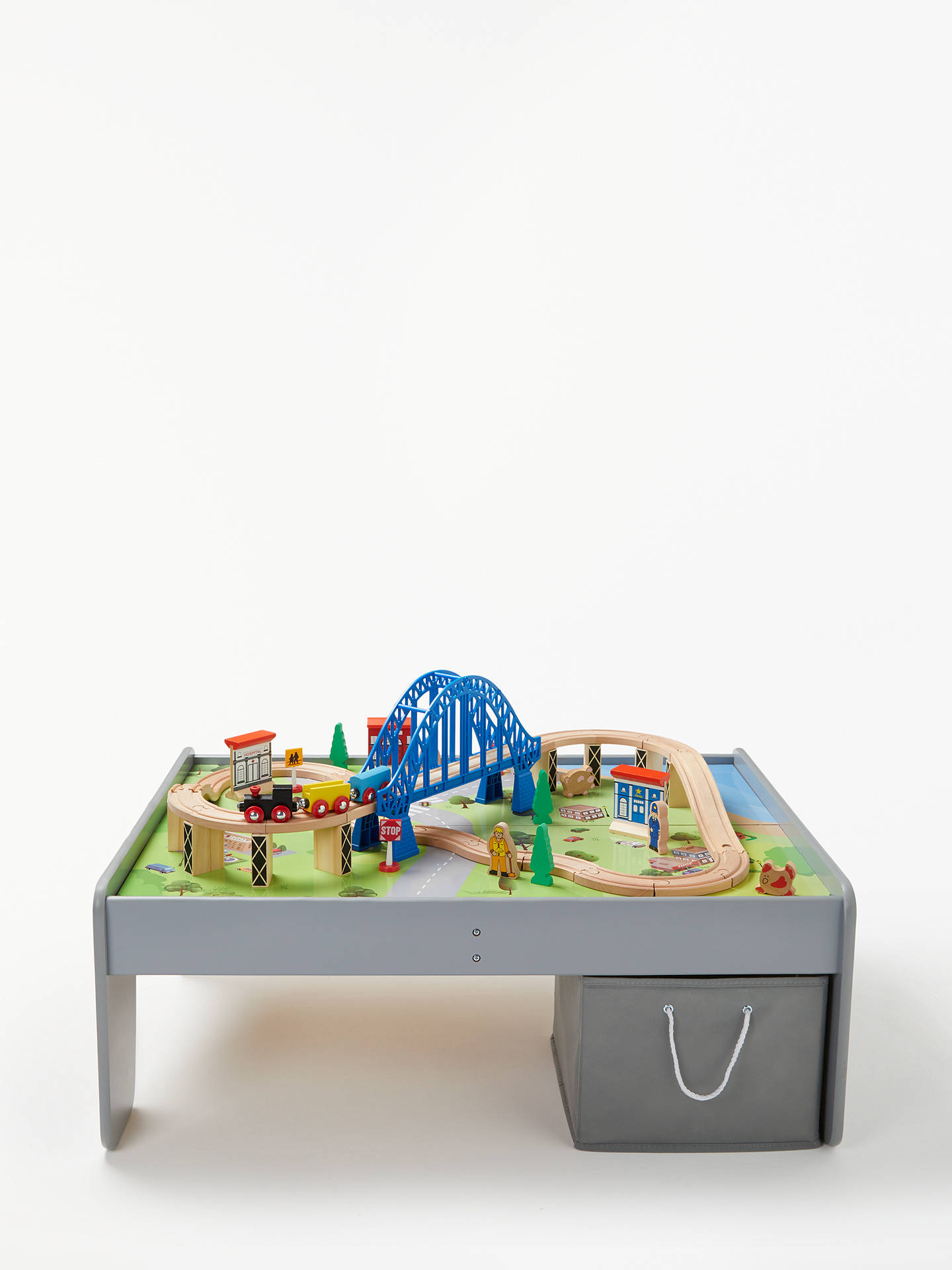 b1c43932a0dd Buy John Lewis   Partners Wooden Train Table 50 Pieces Online at johnlewis.  ...
