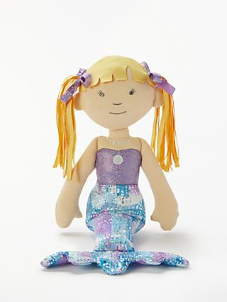 John Lewis & Partners Mermaid Ragdoll Soft Toy