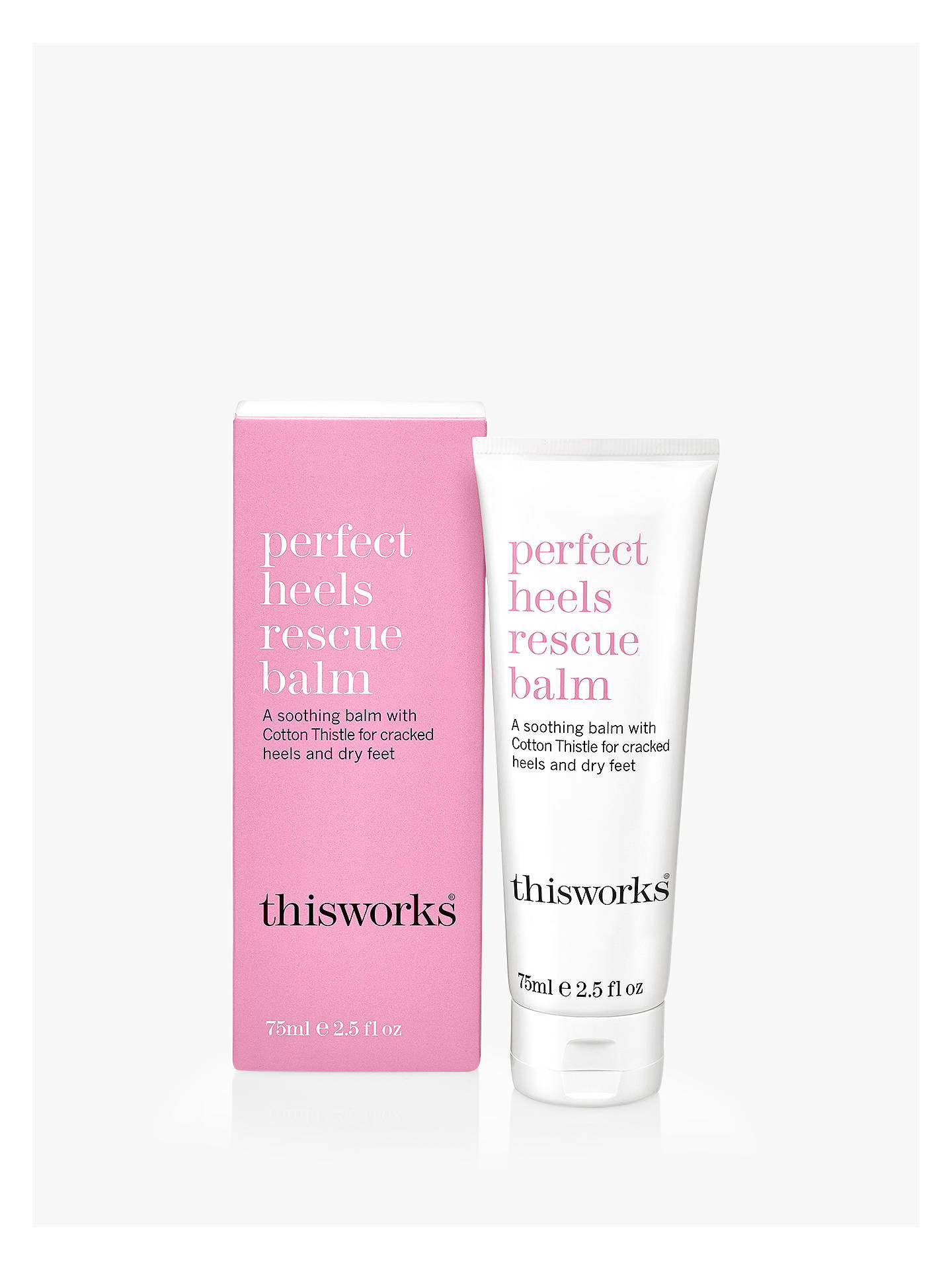 Buy This Works Perfect Heels Rescue Balm, 75ml Online at johnlewis.com