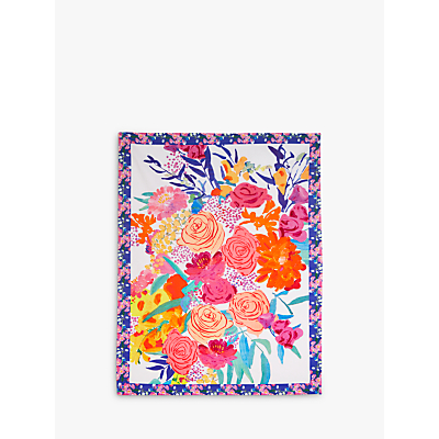 Anthropologie Bridgette Thornton Floral Tea Towel, Multi