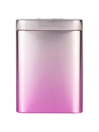 Buy T2 Ombre Tea Storage Tin, Pink Online at johnlewis.com