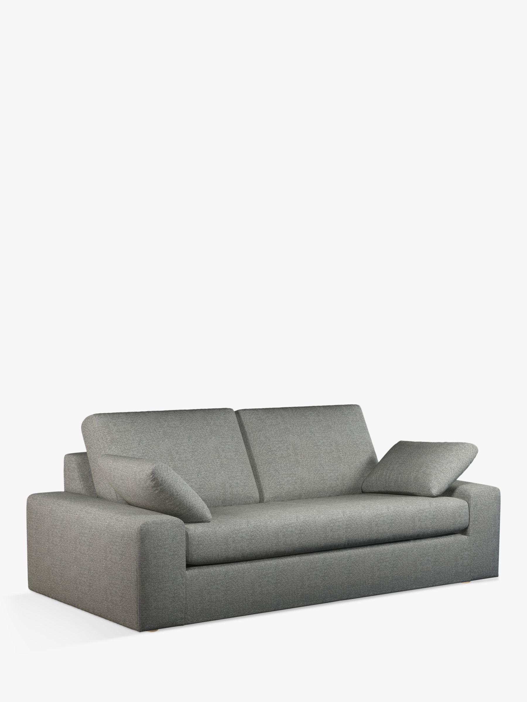 John Lewis & Partners Prism Grand 4 Seater Sofa, Light Leg