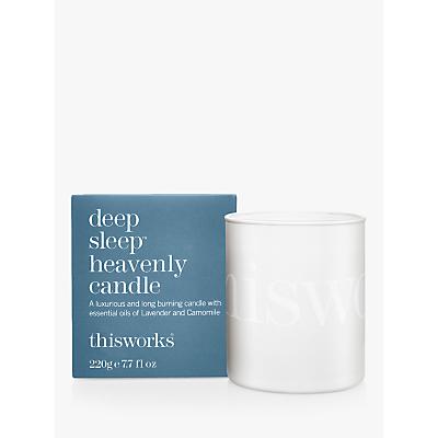 This Works Deep Sleep Heavenly Candle, 220g