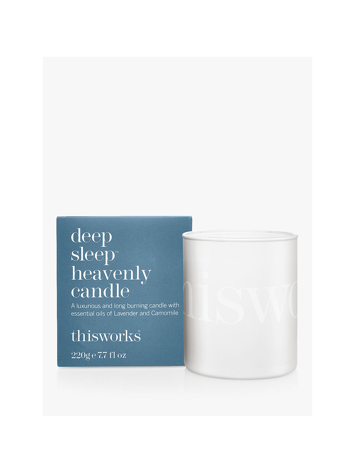 BuyThis Works Deep Sleep Heavenly Candle, 220g Online at johnlewis.com