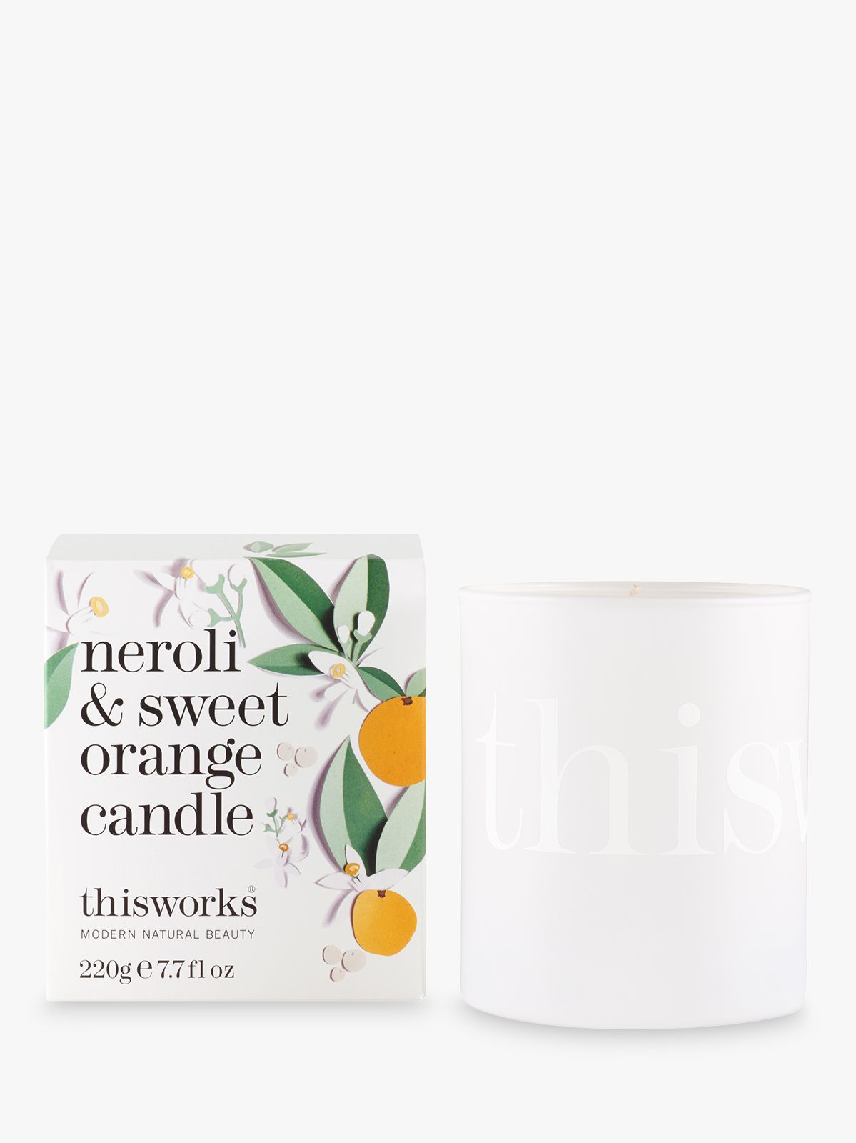This Works Neroli Sweet Orange Scented Candle Limited Edition 220g At John Lewis Partners
