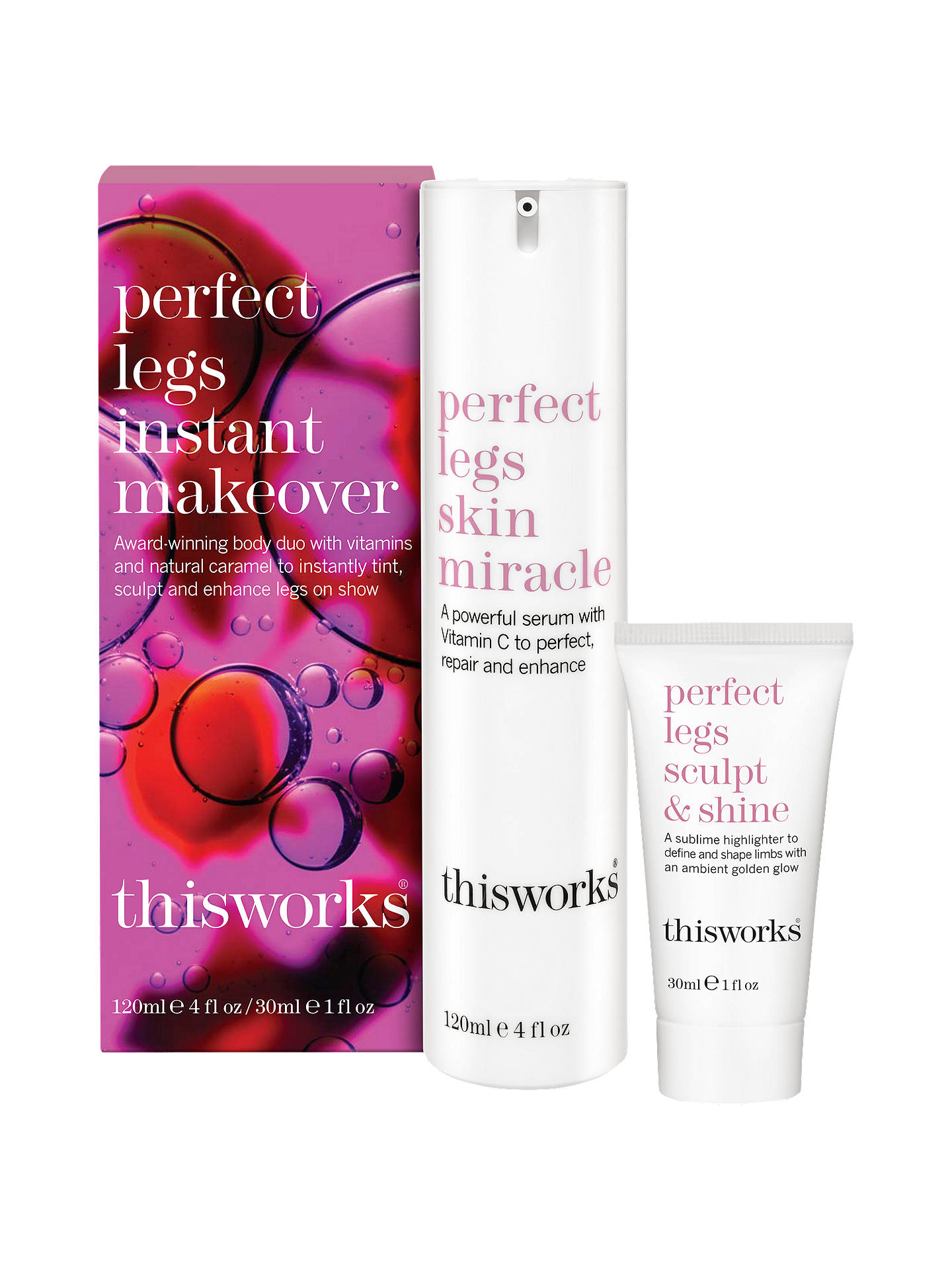 790197b7d Buy This Works Perfect Legs Instant Makeover Set Online at johnlewis.com