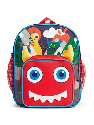 John Lewis & Partners Monster Children's Backpack, Multi