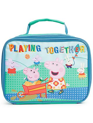 John Lewis & Partners Peppa Pig & George Lunchbox