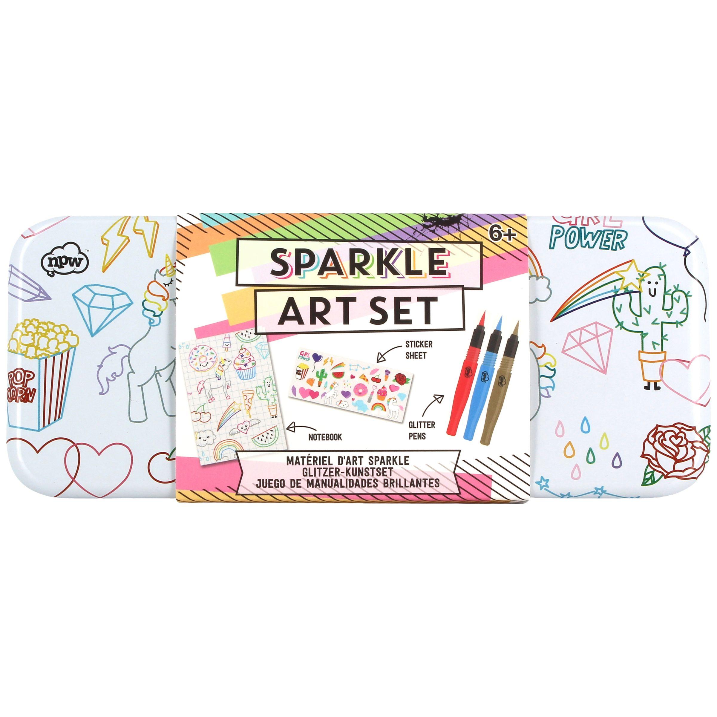 NPW NPW Children's Sparkle Art Set