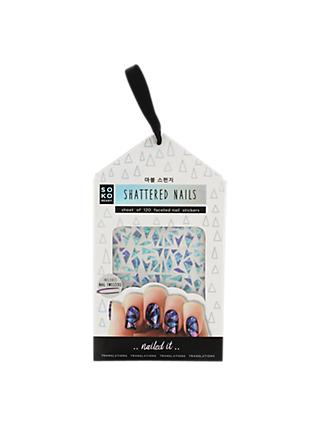 NPW Soko Ready Shattered Nails Stickers