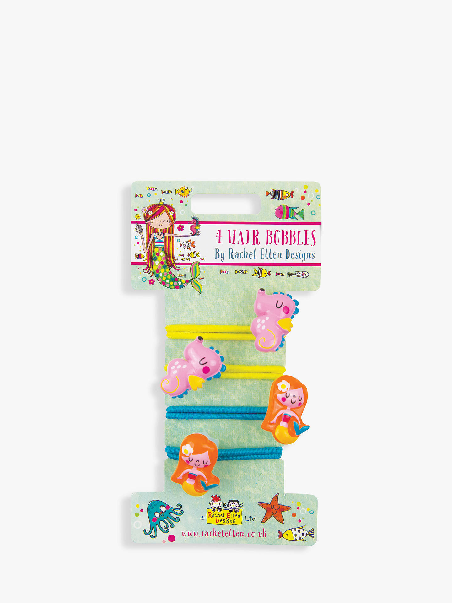 BuyRachel Ellen Mermaid Bobble Hair Grips Online at johnlewis.com