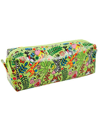 Buy Rachel Ellen Tropical Pencil Case, Green/Multi Online at johnlewis.com
