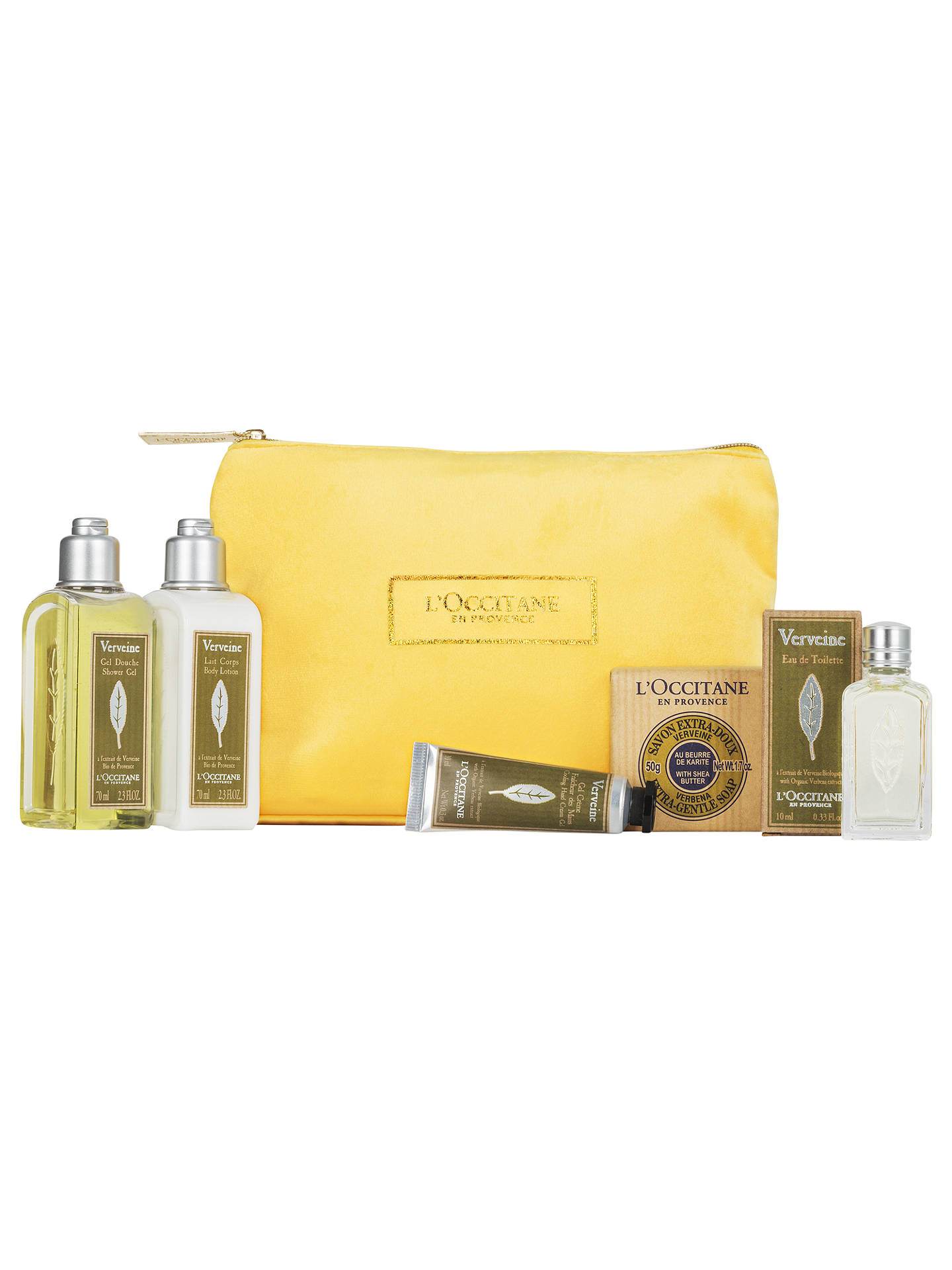 BuyLOccitane Verbena Collection Bodycare Gift Set Online At Johnlewis