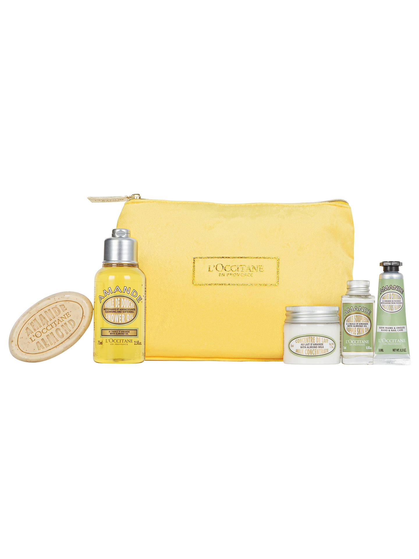 BuyLOccitane Almond Collection Bodycare Gift Set Online At Johnlewis