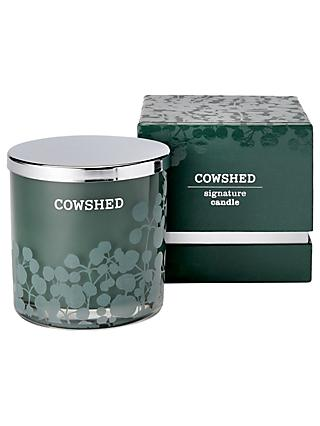 Cowshed Limited Edition 20th Anniversary Double Wick Scented Candle  7e2dfb4823b52