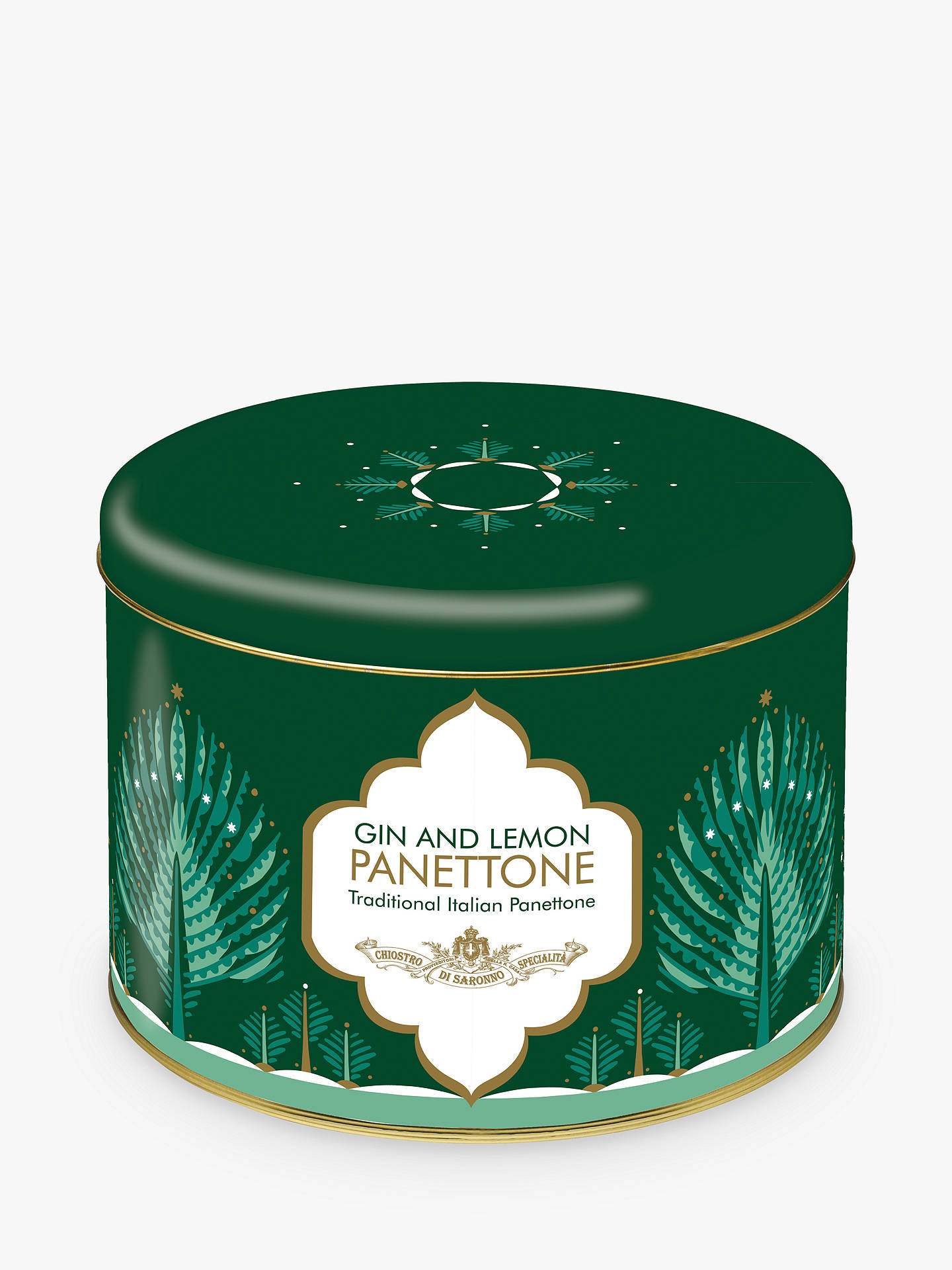Buy Lazzaroni Gin Cream Panettone, 750g Online at johnlewis.com