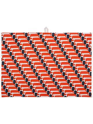 101297c1b2dbb Orla Kiely Dachshund Dog Tea Towels