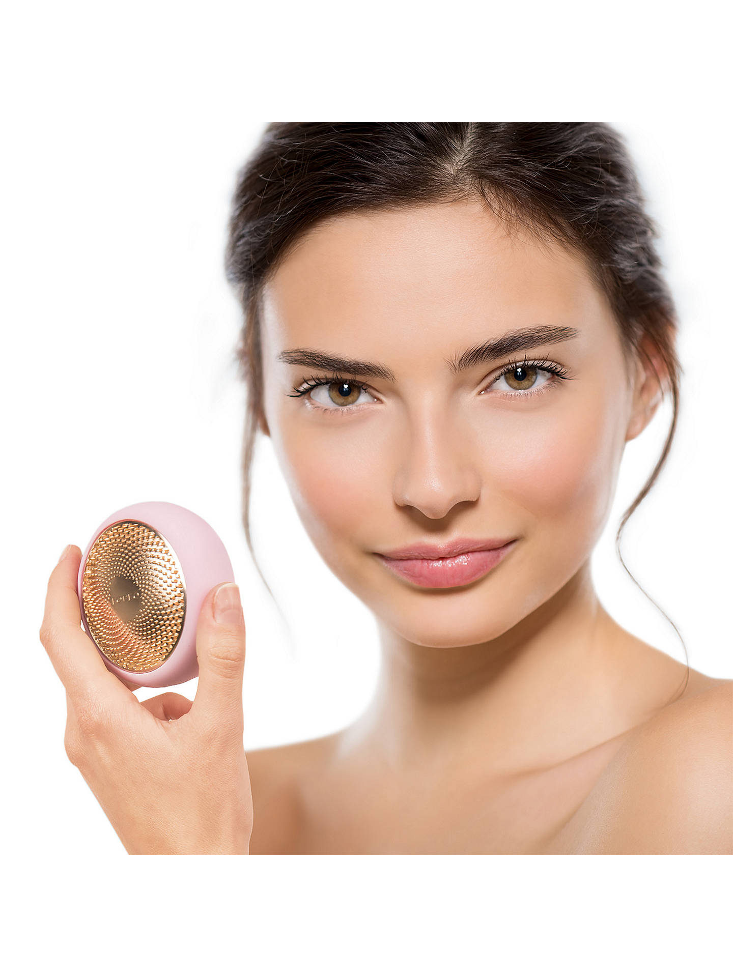 BuyFOREO UFO Smart Mask Treatment Device, Pearl Pink Online at johnlewis.com