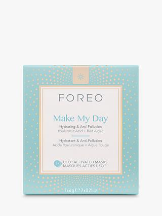 FOREO Make My Day UFO Activated Mask, Pack of 7