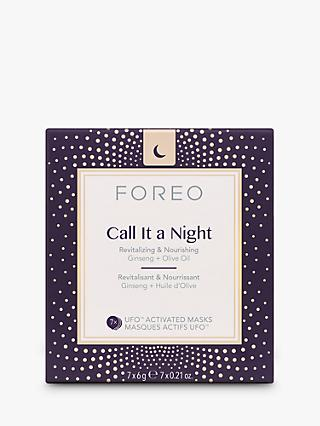 FOREO Call It A Night UFO Activated Mask, Pack of 7