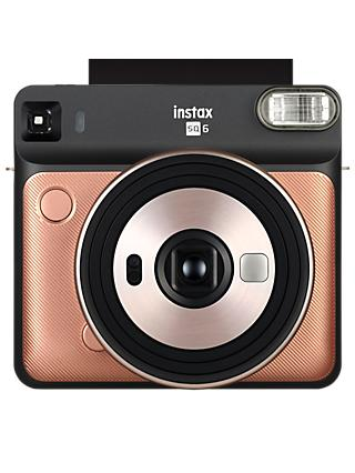 Fujifilm Instax SQUARE SQ6 Instant Camera with Selfie Mode, Built-In Flash & Shoulder Strap