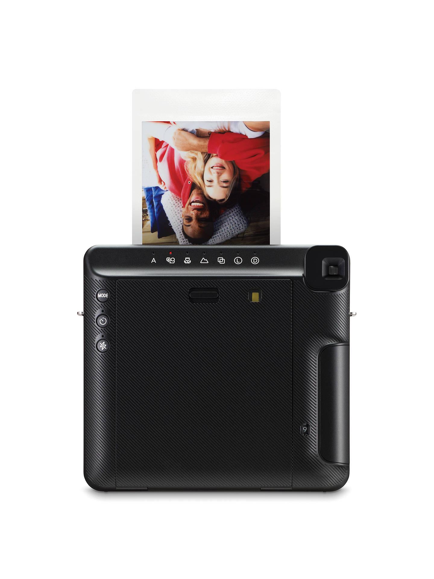 Fujifilm Instax SQUARE SQ6 Instant Camera with Selfie Mode, Built-In Flash  & Shoulder Strap, Graphite Grey