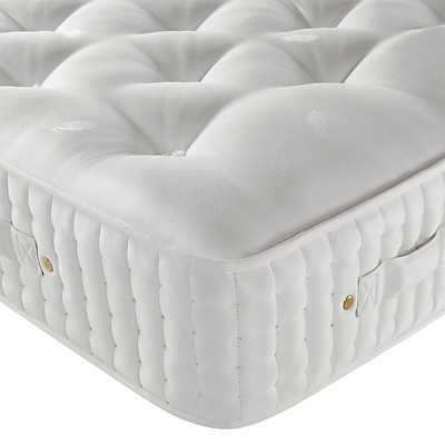 John Lewis & Partners Natural Collection Goat Angora 14000 Comfort Support, King Size, Firm Tension Pocket Spring Mattress