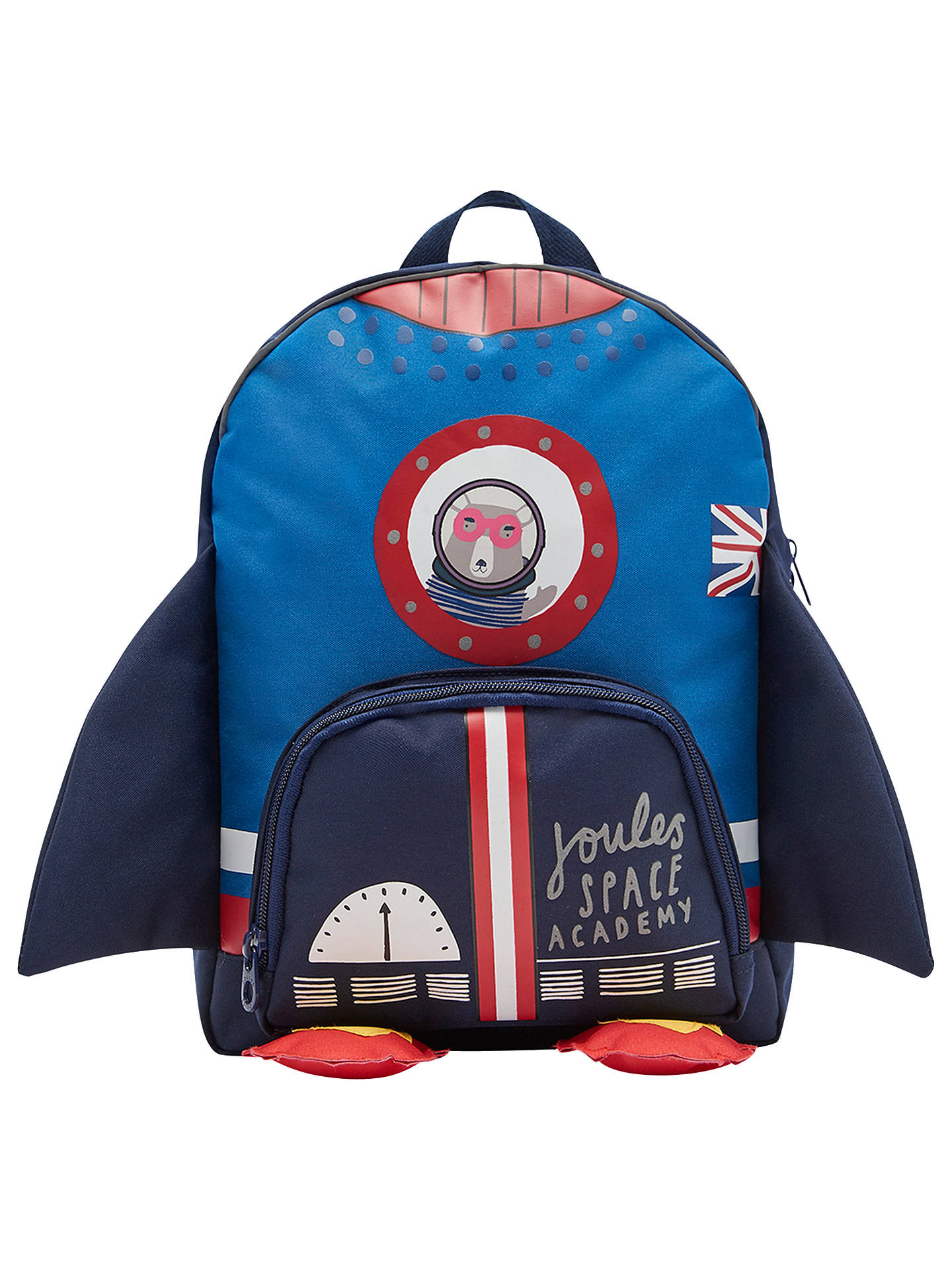 07028dd3e804 Joules Rocket Children's Backpack, Blue