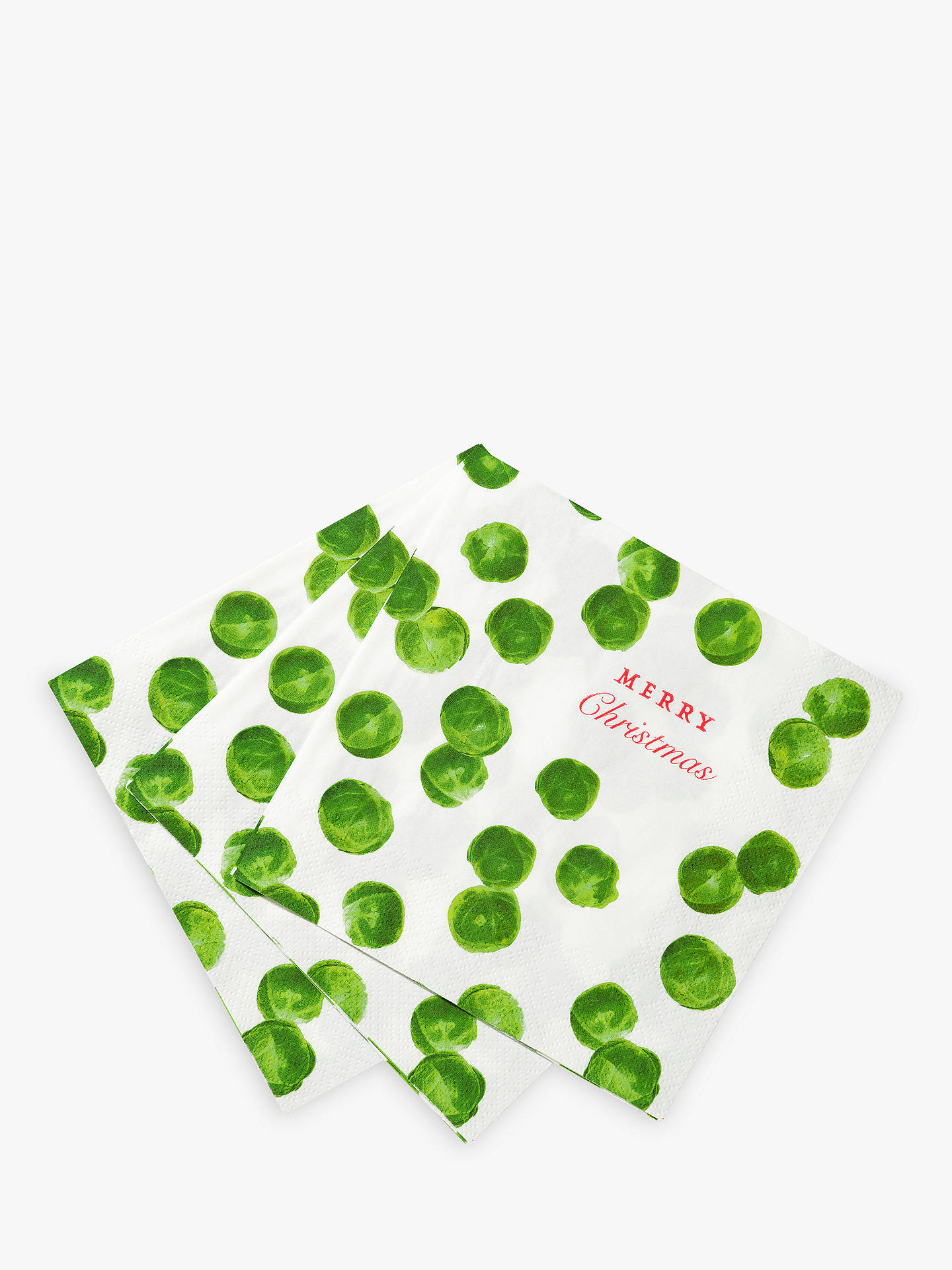 Buy Talking Tables Sprout Napkins, Pack of 20 Online at johnlewis.com