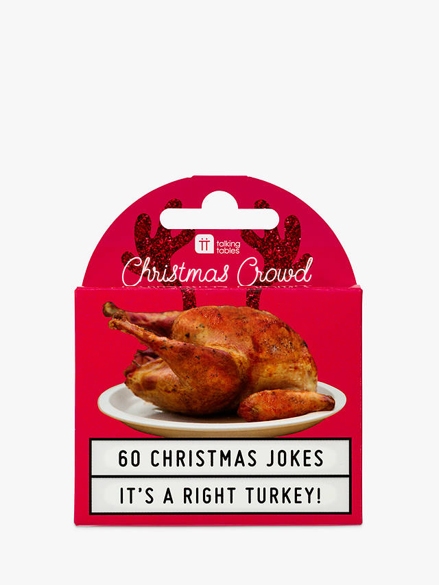 Buy Talking Tables Turkey Christmas Jokes Online at johnlewis.com