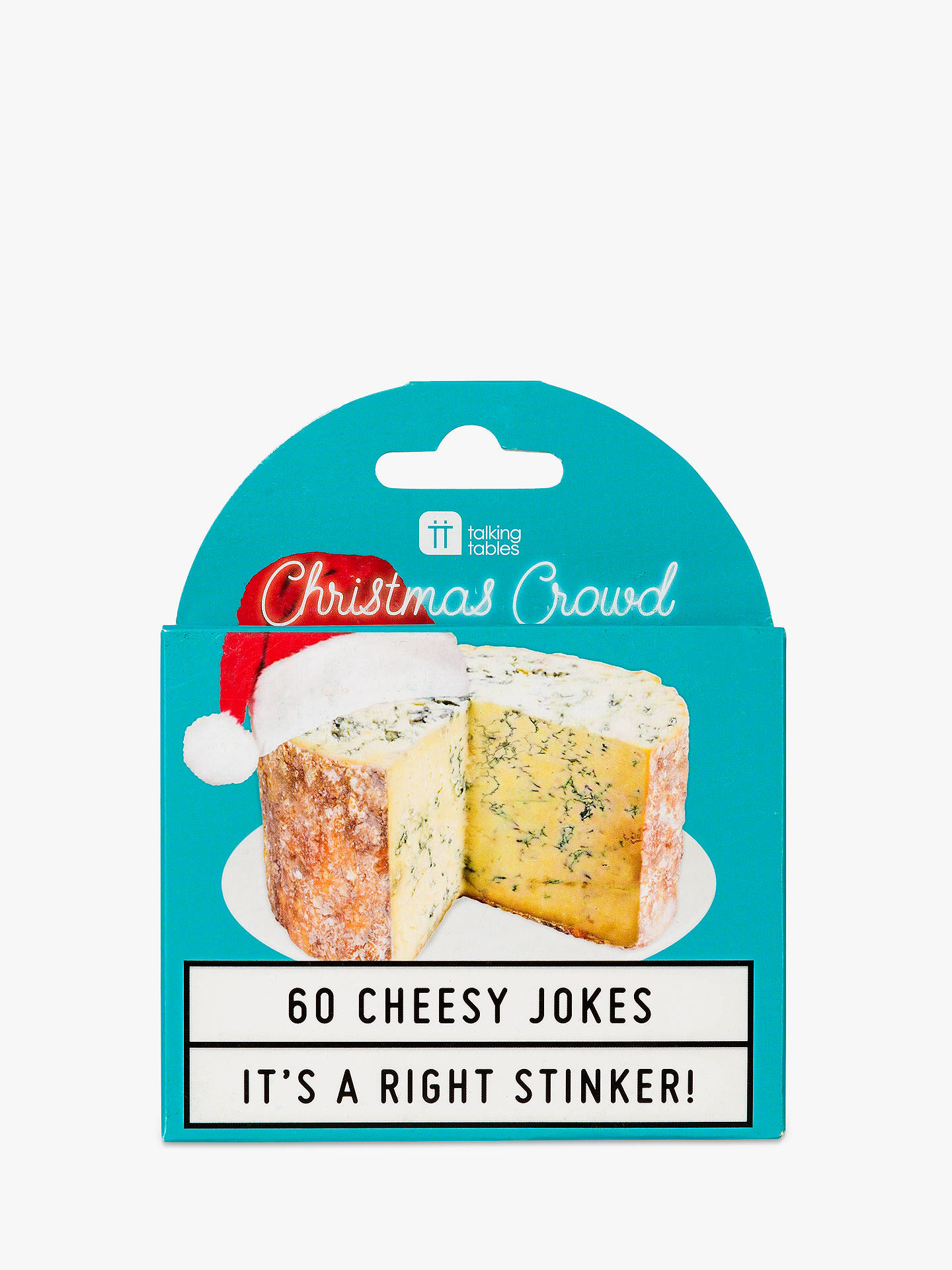 Buy Talking Tables Cheesy Christmas Jokes Online at johnlewis.com