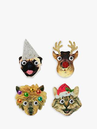 Talking Tables Animal Flashing Badge, Assorted