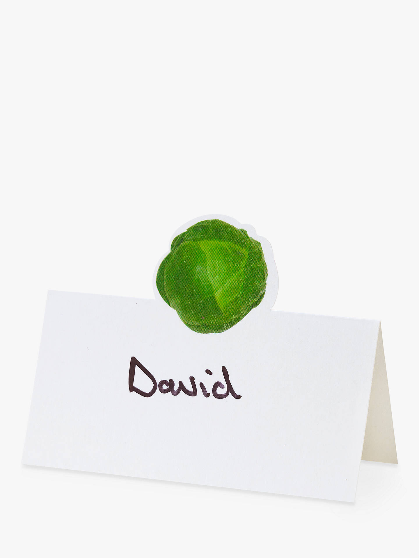 Buy Talking Tables Sprout Placecards, Pack of 12 Online at johnlewis.com