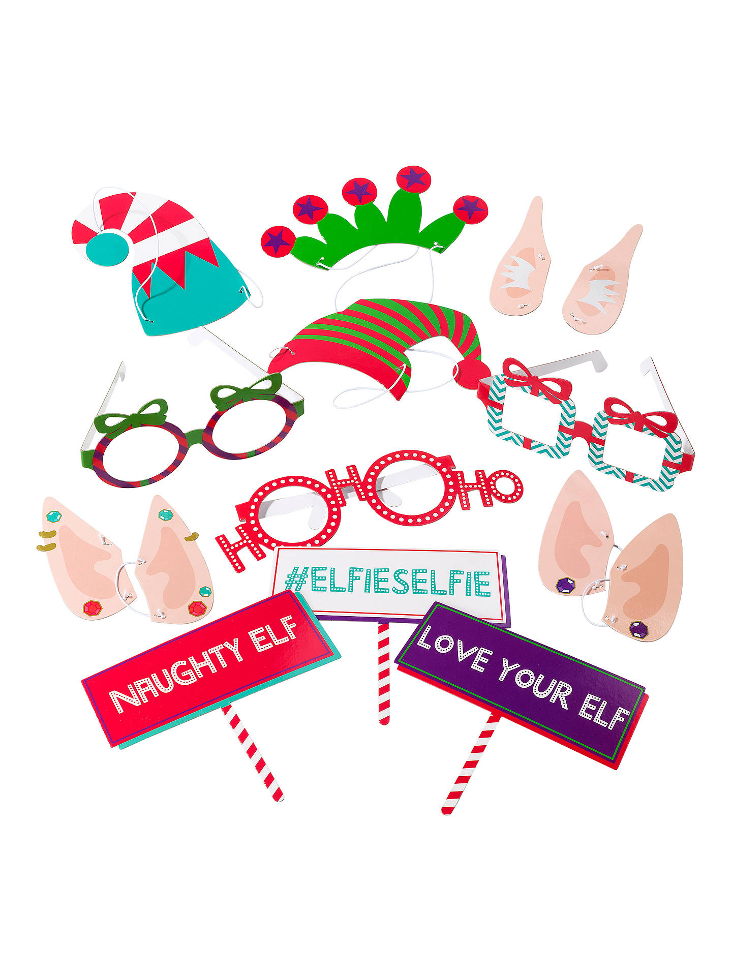 BuyTalking Tables Christmas Elfie Selfie Kit Online at johnlewis.com