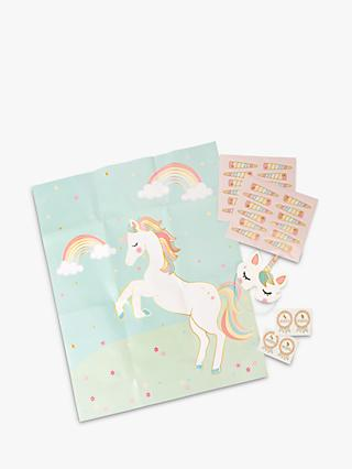 Talking Tables Pin the Horn on the Unicorn Game
