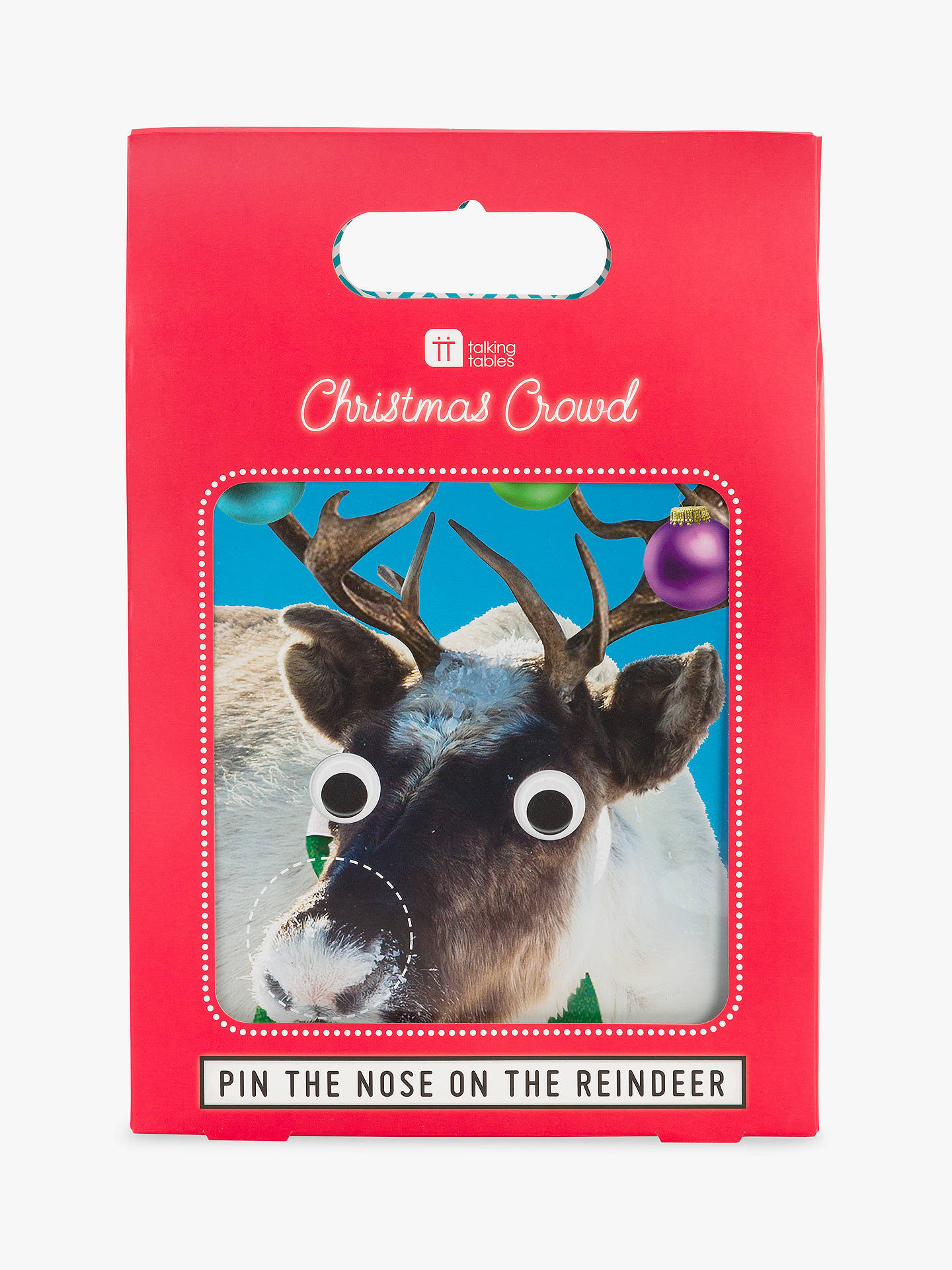 BuyTalking Tables Pin the Nose on Rudolph Game Online at johnlewis.com