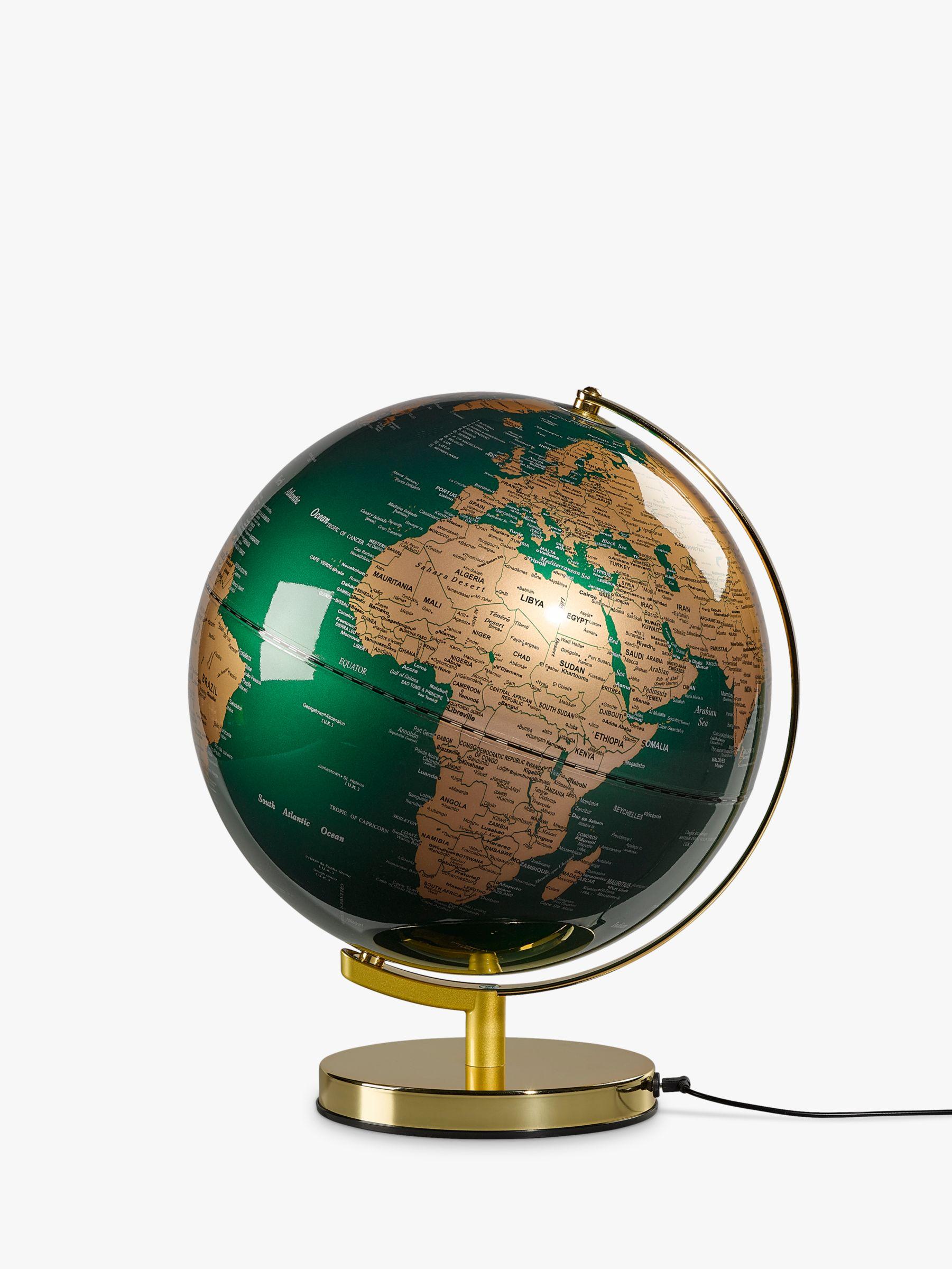 Wild & Wolf Wild & Wolf Green & Brass 12 Globe