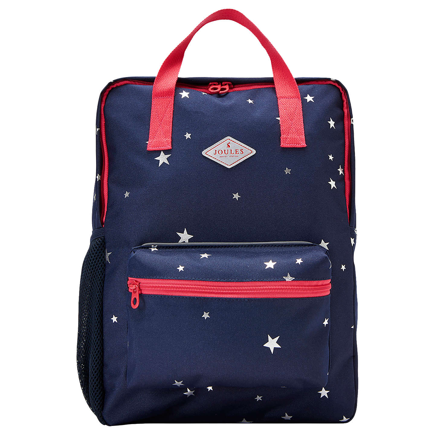 Buylittle Joule Childrens Star Print Square Backpack, Navyred Online At