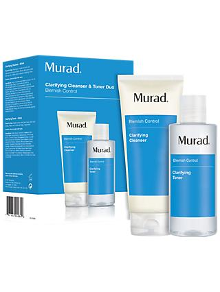 Murad Clarifying Cleanser & Toner Duo