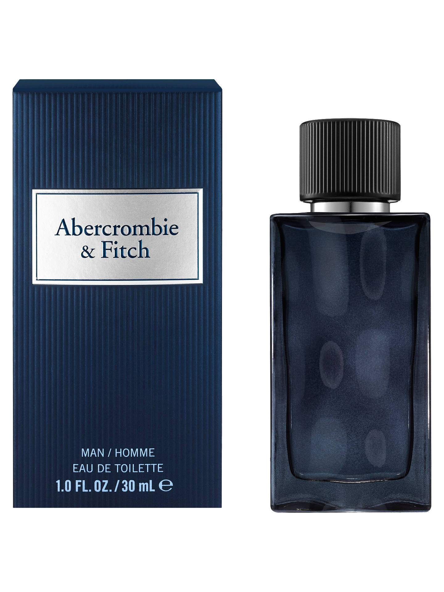 Buy Abercrombie & Fitch First Instinct Blue For Men Eau de Toilette, 30ml Online at johnlewis.com
