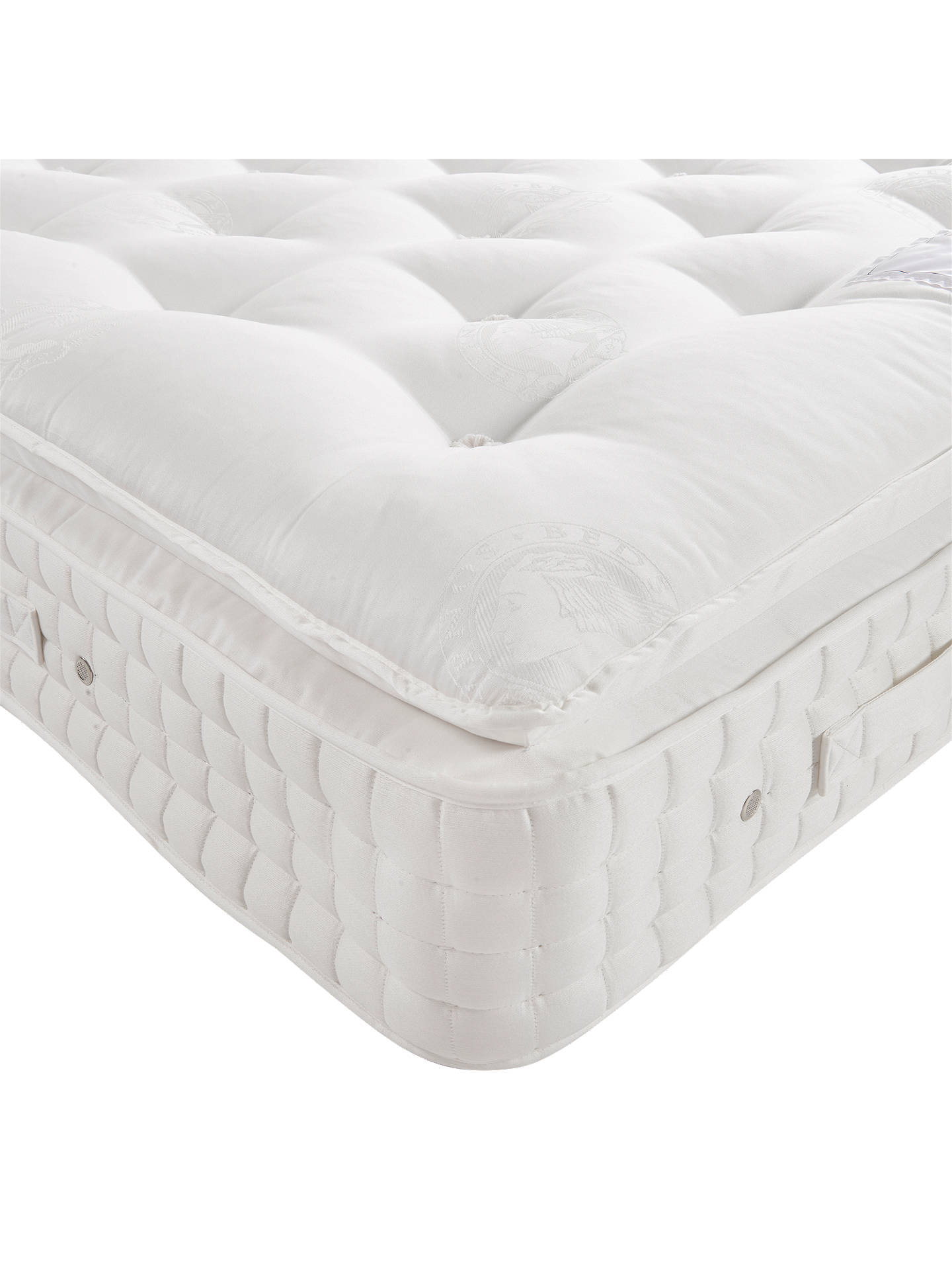 sneakers for cheap 02ca8 dca60 Hypnos Sublime Pillowtop Pocket Spring Mattress, Medium Tension, Super King  Size
