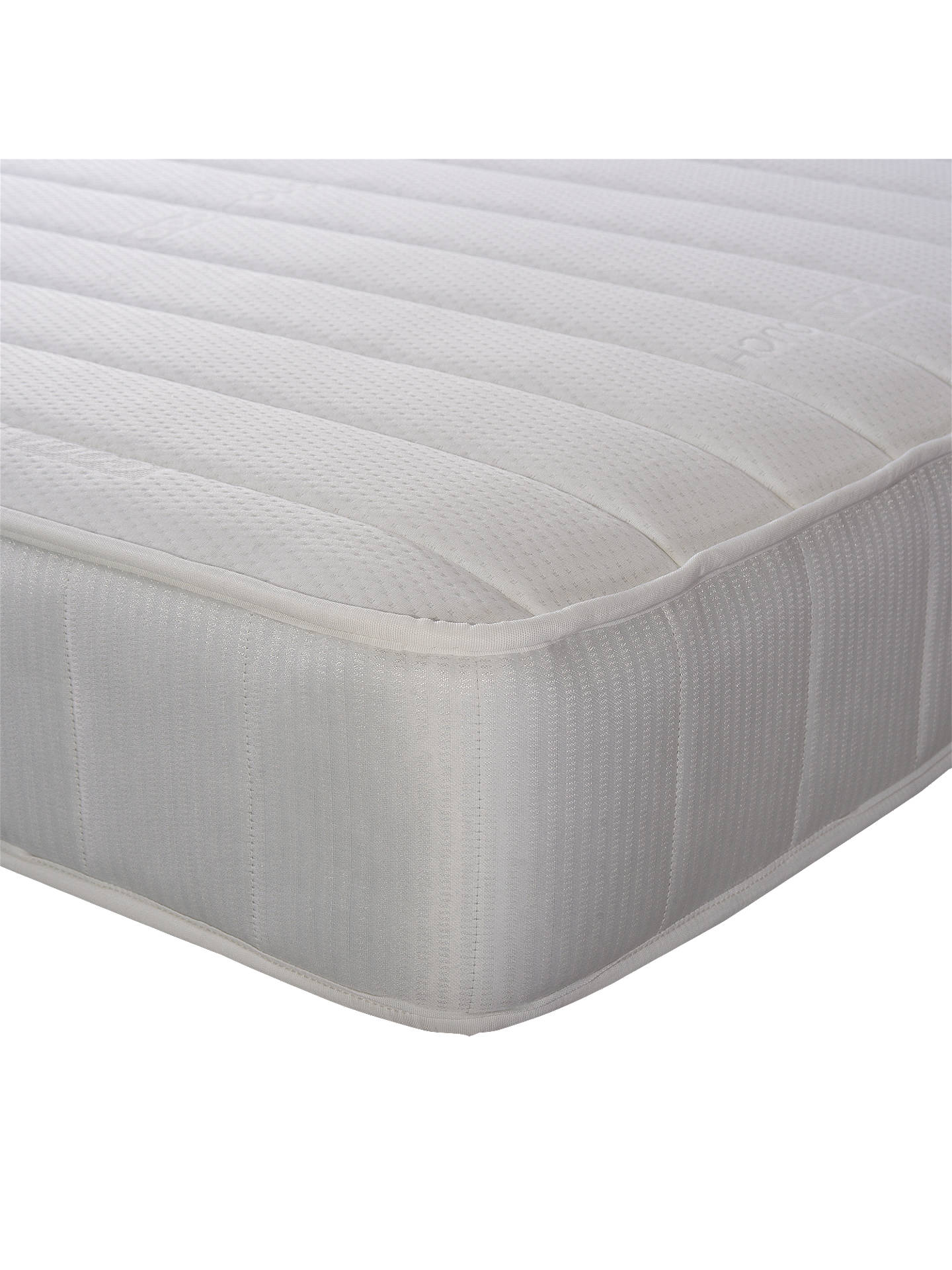 BuyJohn Lewis & Partners Essentials Collection Pocket 1000 Luxury, Medium Tension, Pocket Spring Mattress, Small Double Online at johnlewis.com