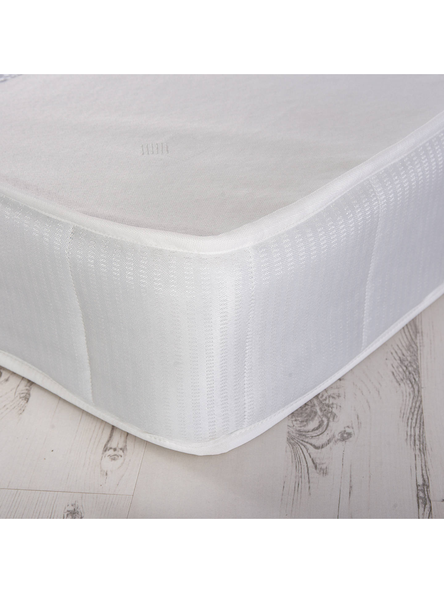 reputable site 52cd3 1f100 House by John Lewis Rest One Open Coil Mattress, Medium Tension, Single