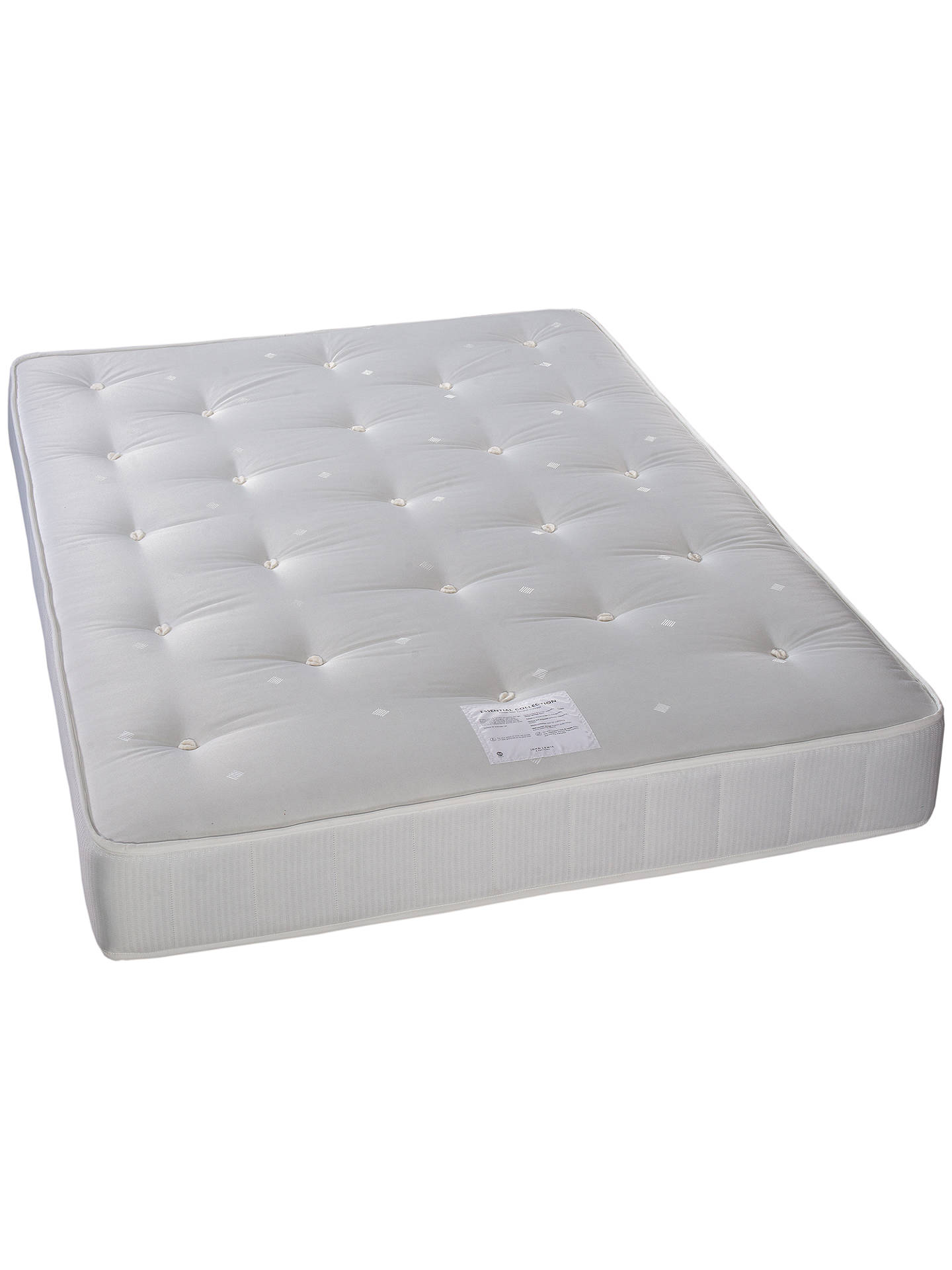 Buy John Lewis & Partners Essentials Collection Pocket 1000, Ortho Support, Pocket Spring Turnable Mattress, Small Double Online at johnlewis.com