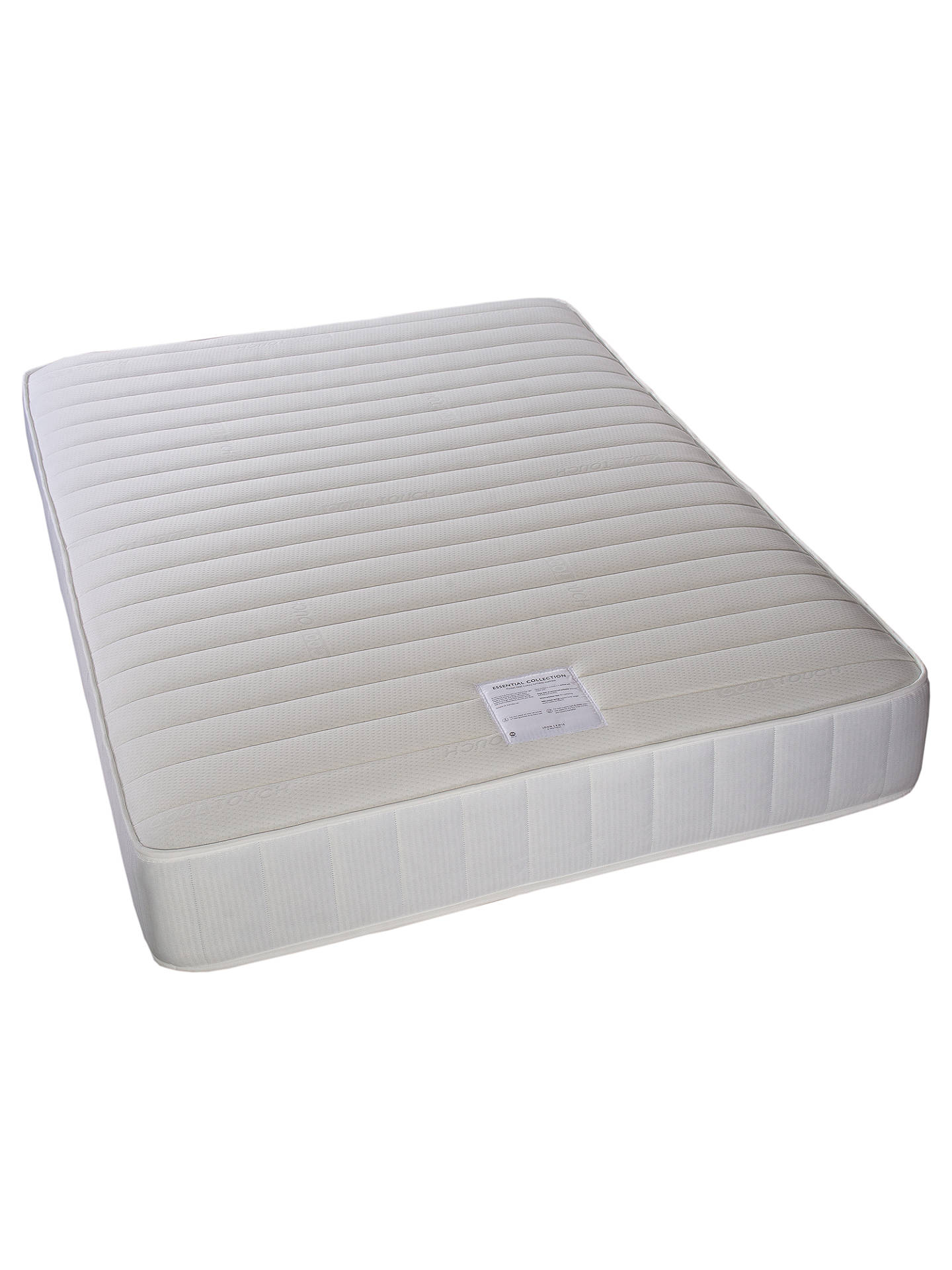BuyJohn Lewis & Partners Essentials Collection Pocket 1000 Luxury, Medium Tension, Pocket Spring Turnable Mattress, Small Double Online at johnlewis.com