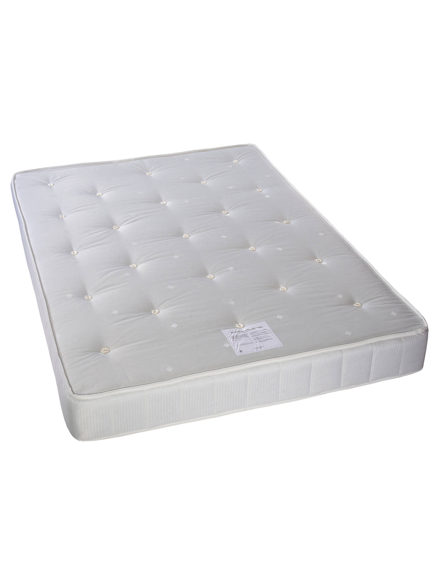 BuyJohn Lewis & Partners Essentials Collection Pocket 1000, Ortho Support Pocket Spring Mattress, Small Double Online at johnlewis.com