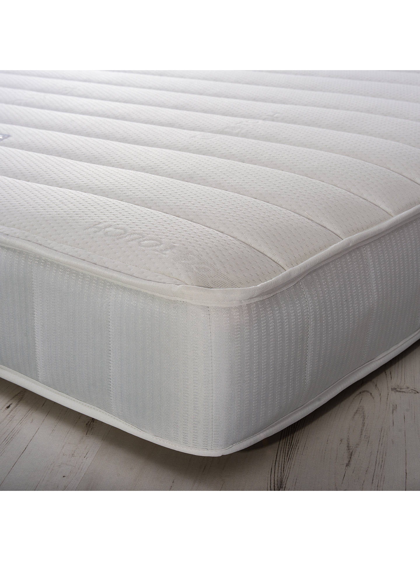 BuyJohn Lewis & Partners Essentials Collection Pocket Memory 1000, Medium Tension Pocket Spring Mattress, Single Online at johnlewis.com