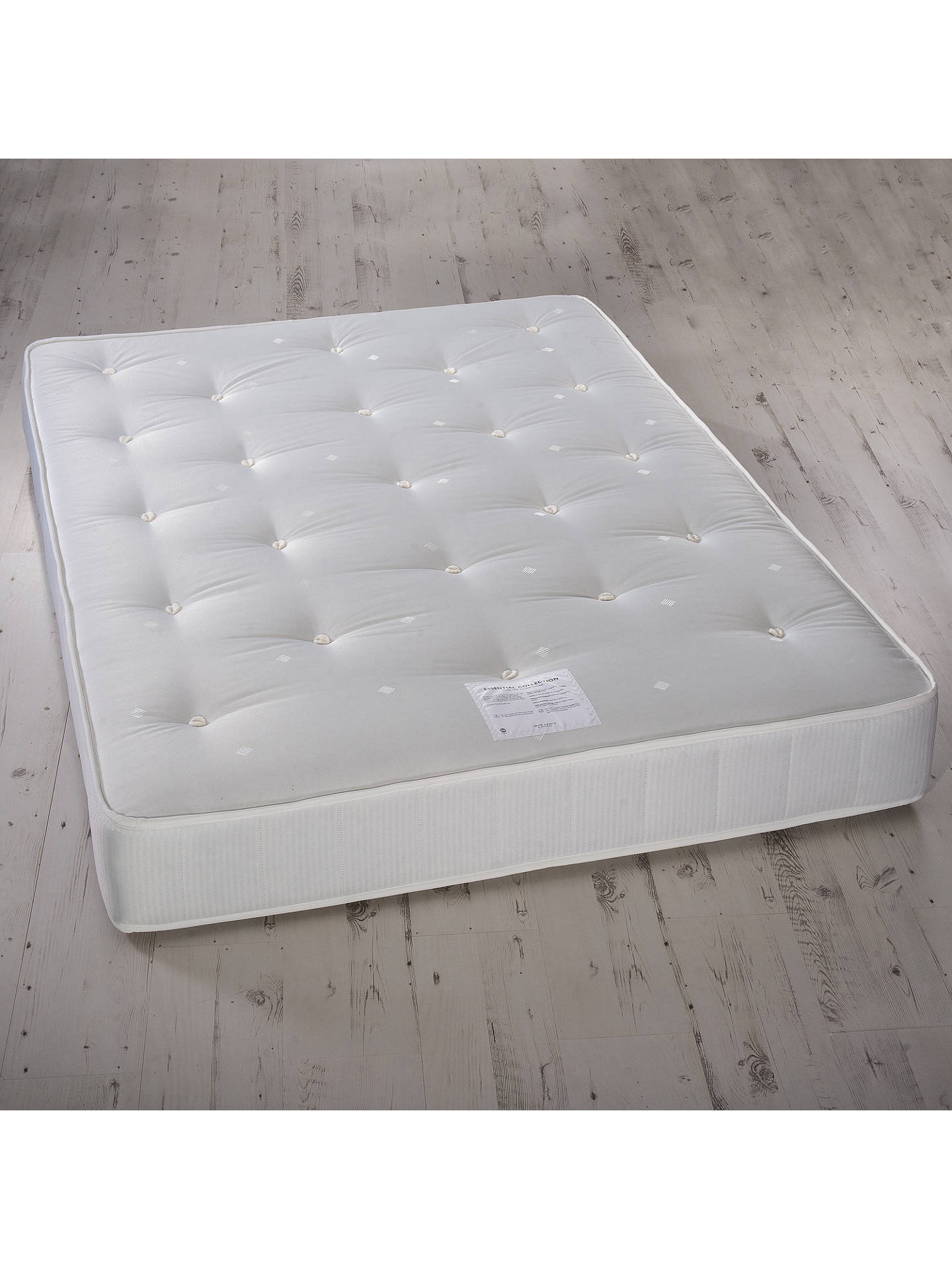 BuyJohn Lewis & Partners Essentials Collection Pocket 1000, Ortho Support, Pocket Spring Turnable Mattress, King Size Online at johnlewis.com