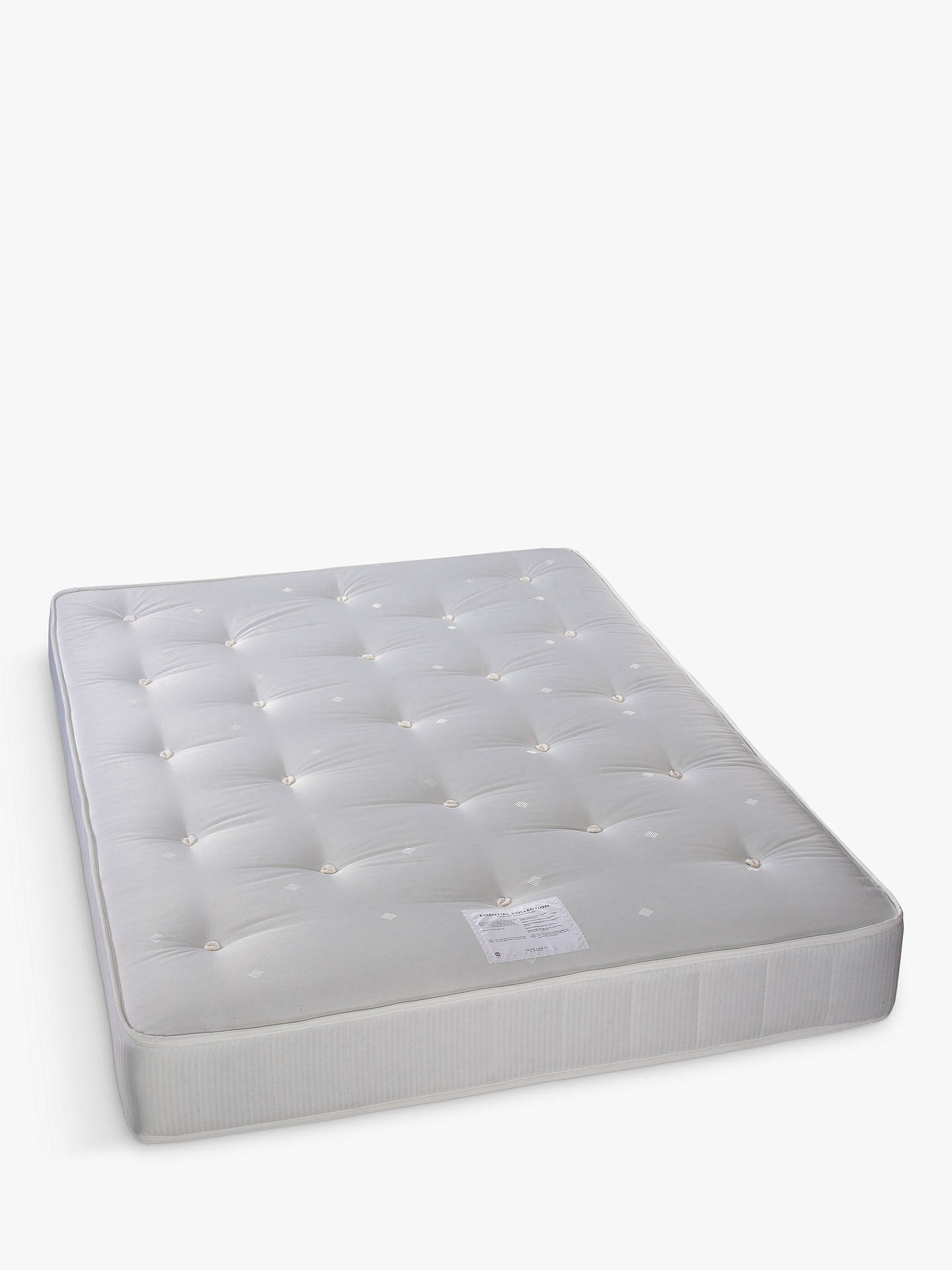 Buy John Lewis & Partners Essentials Collection Pocket 1000, Ortho Support, Pocket Spring Turnable Mattress, Double Online at johnlewis.com