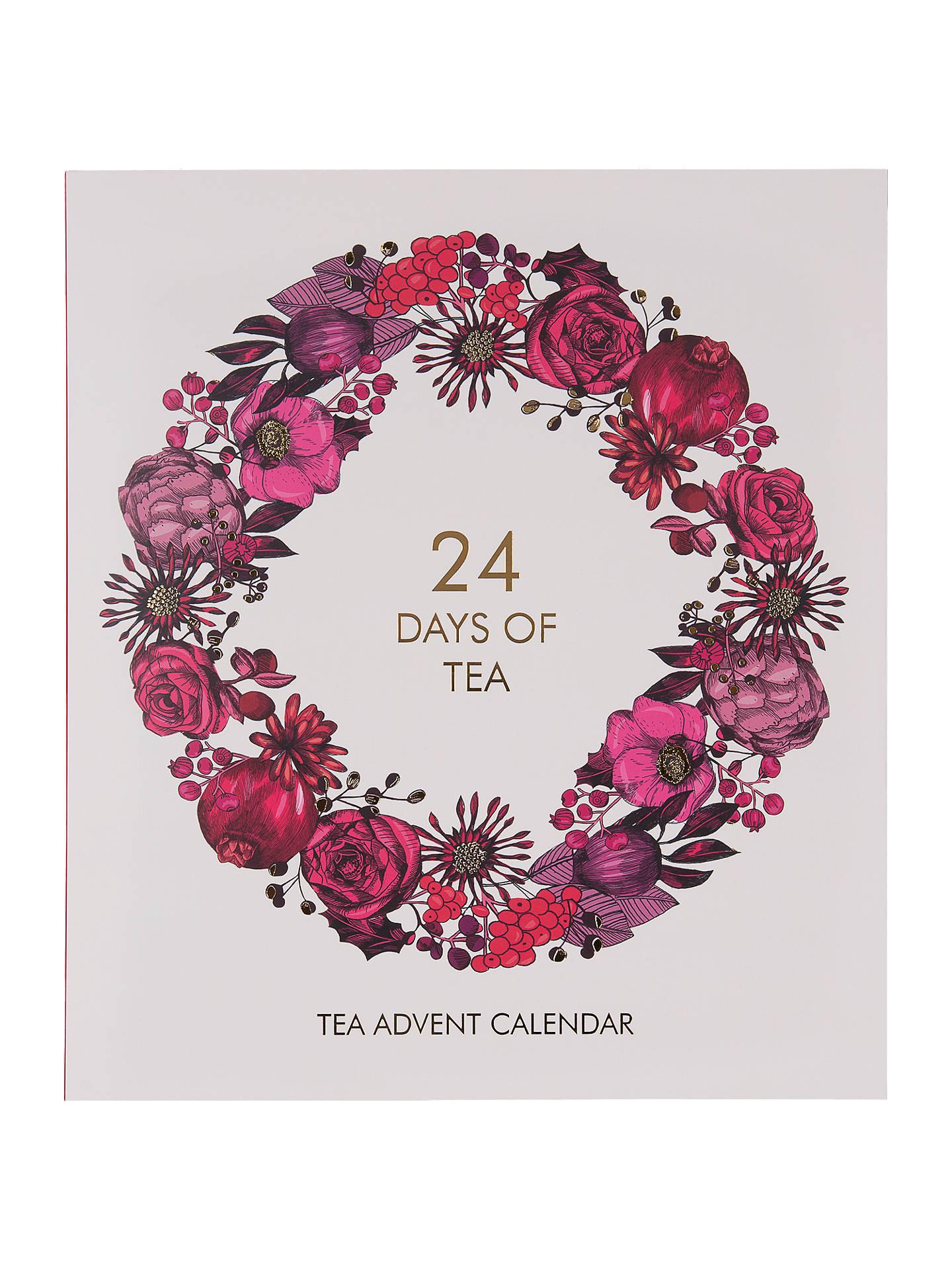24 Days Of Tea Advent Calendar 320g At John Lewis Partners